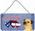 Buy this Woof if you love America Border Terrier Wall or Door Hanging Prints SS5047DS612