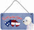 Buy this Woof if you love America Westie Wall or Door Hanging Prints SS5049DS612