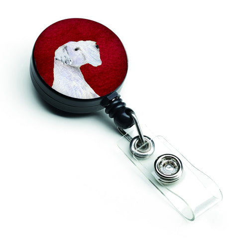 Buy this Sealyham Terrier Retractable Badge Reel or ID Holder with Clip