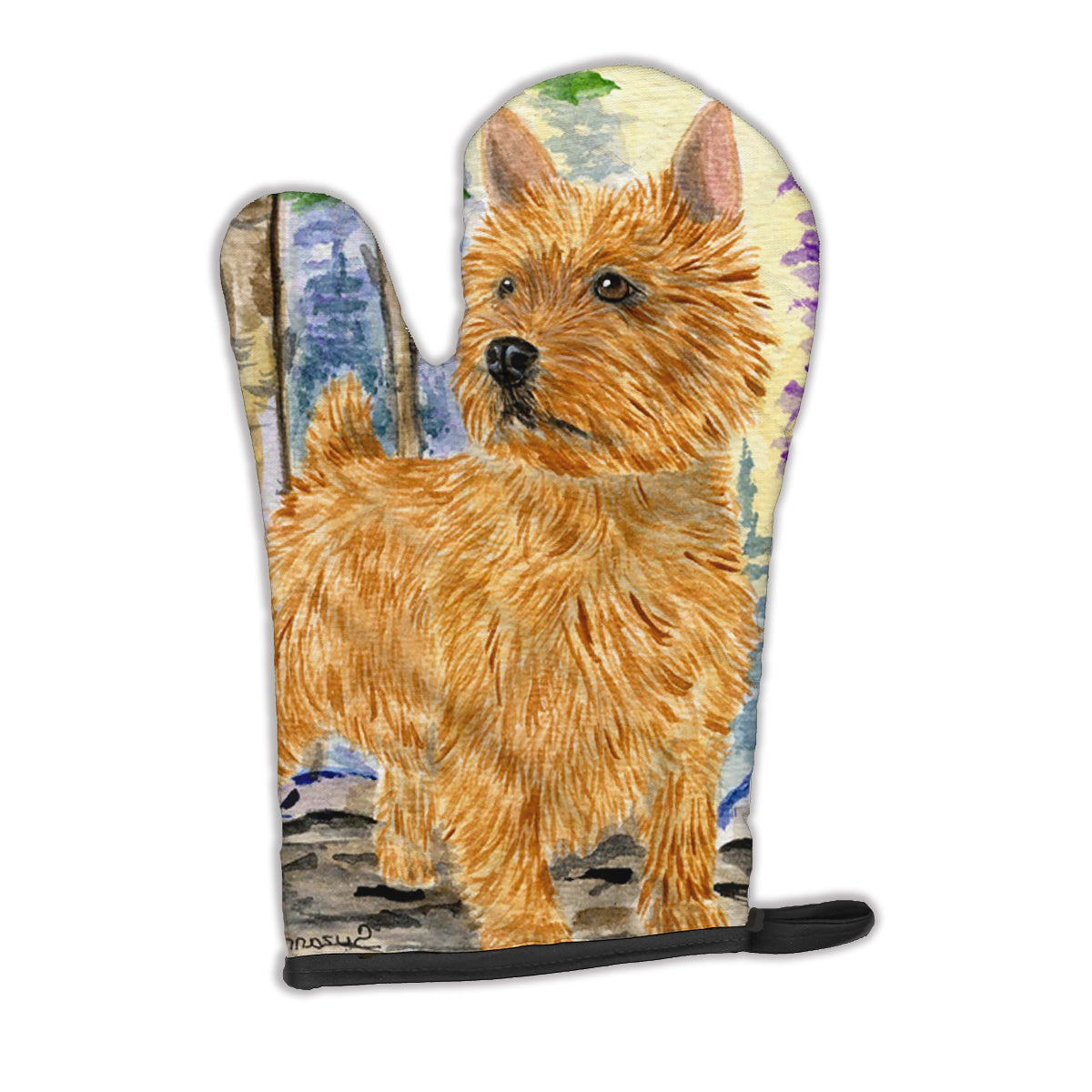 Norwich Terrier Oven Mitt SS8011OVMT by Caroline's Treasures