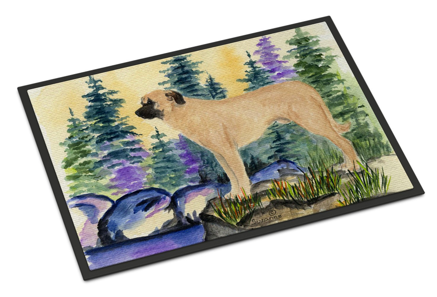 Anatolian Shepherd Indoor Outdoor Mat 18x27 Doormat by Caroline's Treasures