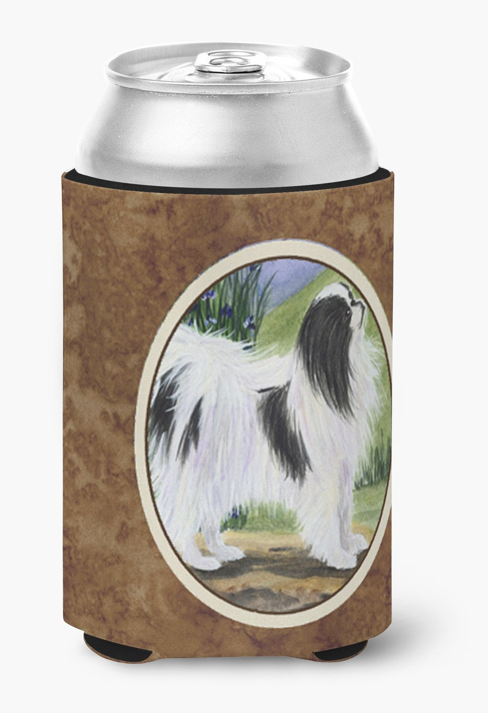 Japanese Chin Can or Bottle Beverage Insulator Hugger by Caroline's Treasures