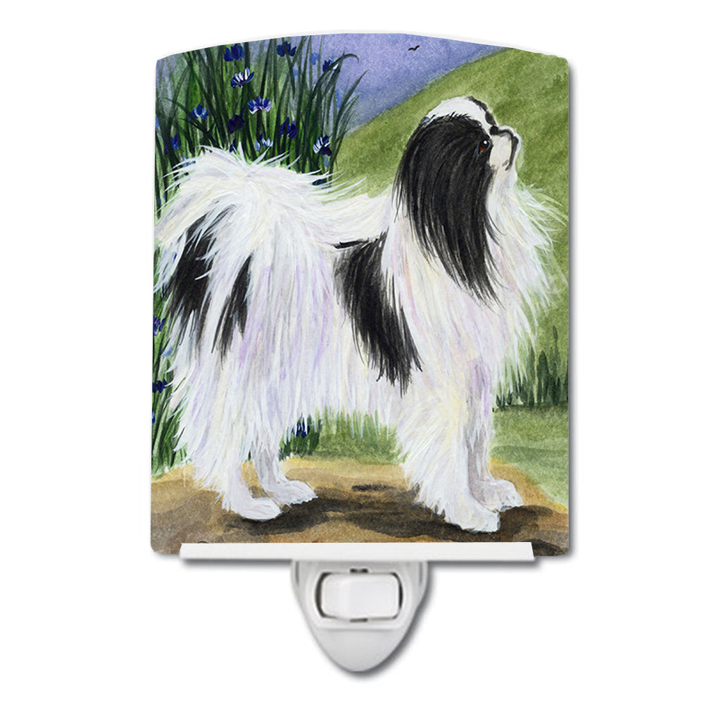 Japanese Chin Ceramic Night Light SS8028CNL by Caroline's Treasures
