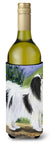 Japanese Chin Wine Bottle Beverage Insulator Beverage Insulator Hugger SS8028LITERK by Caroline's Treasures