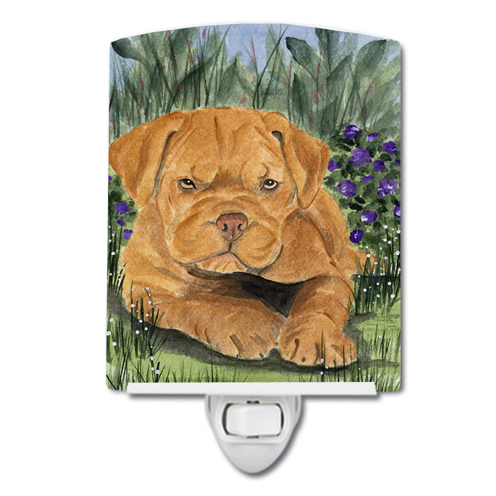 Dogue de Bordeaux Ceramic Night Light SS8032CNL by Caroline's Treasures