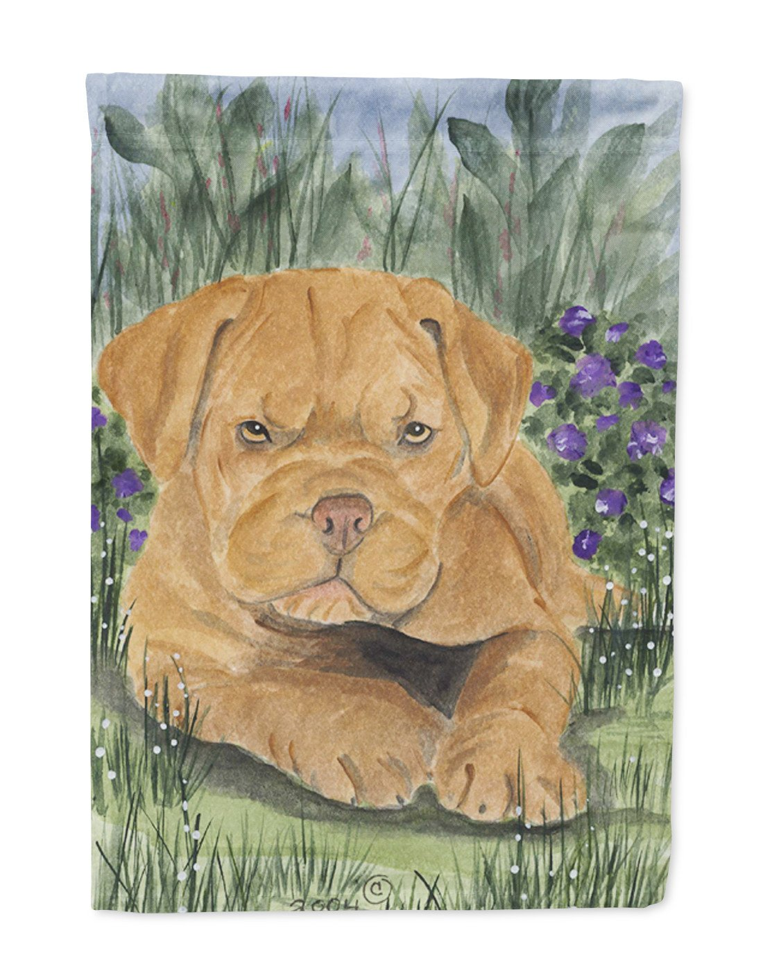 Dogue de Bordeaux Flag Garden Size by Caroline's Treasures