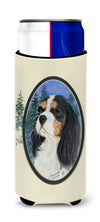 Cavalier Spaniel Ultra Beverage Insulators for slim cans SS8036MUK by Caroline's Treasures