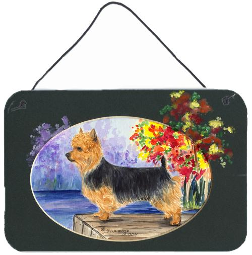 Australian Terrier Indoor Aluminium Metal Wall or Door Hanging Prints by Caroline's Treasures