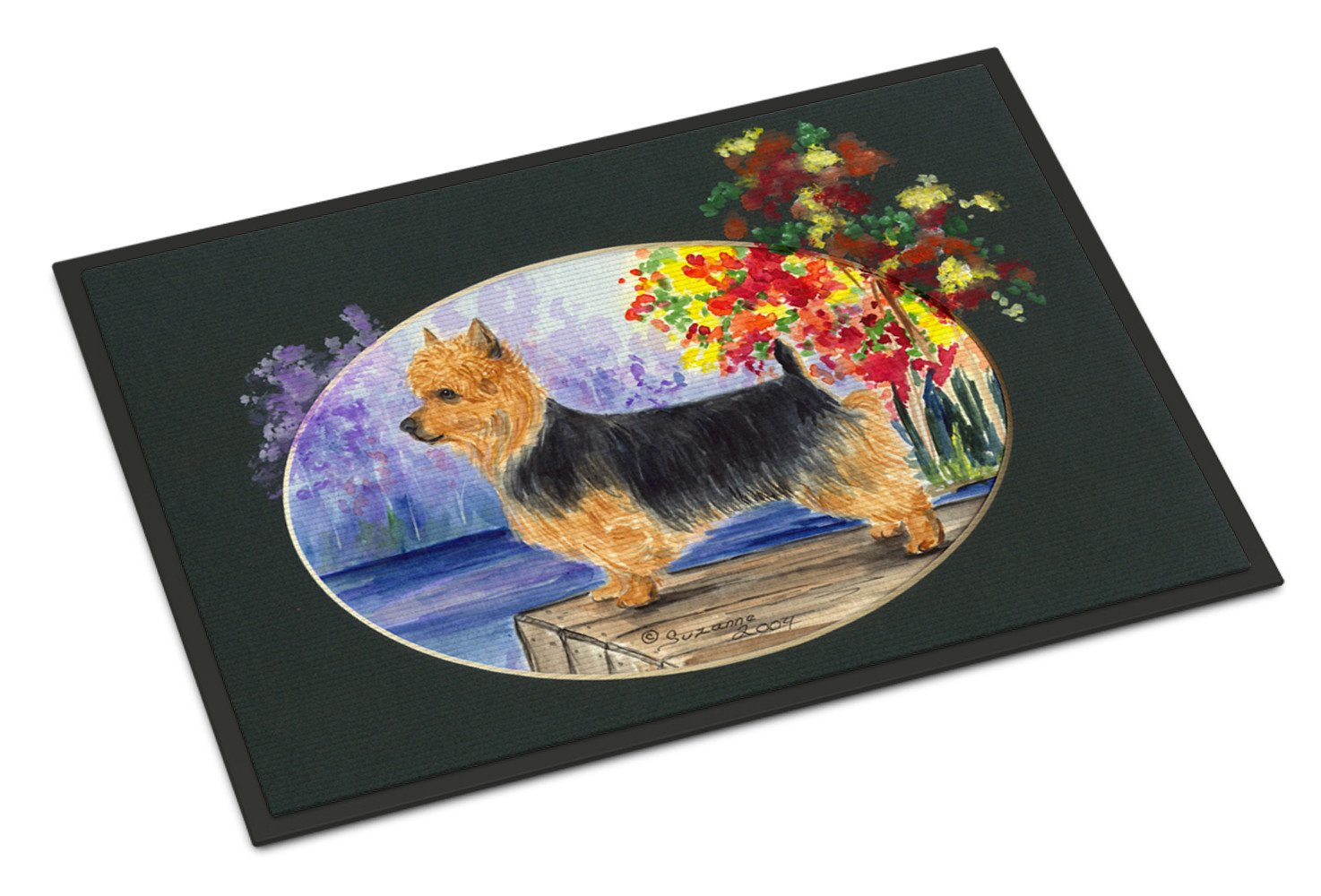Australian Terrier Indoor Outdoor Mat 18x27 Doormat - the-store.com