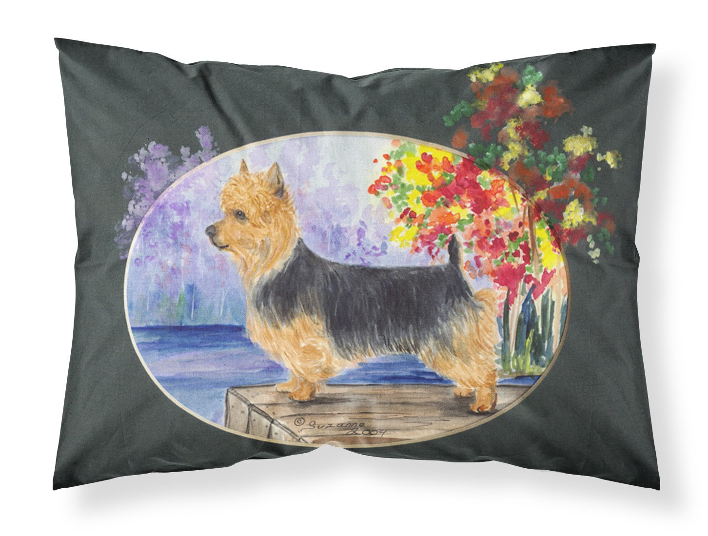 Australian Terrier Moisture wicking Fabric standard pillowcase by Caroline's Treasures