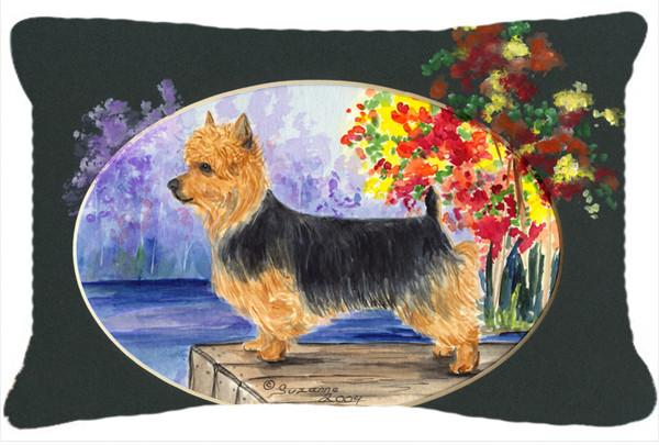 Australian Terrier Decorative   Canvas Fabric Pillow by Caroline's Treasures
