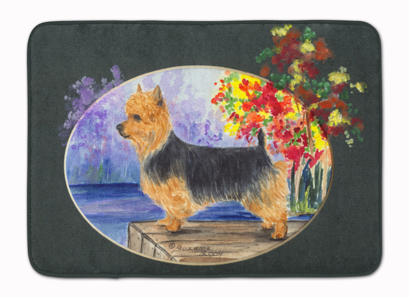 Australian Terrier Machine Washable Memory Foam Mat SS8046RUG by Caroline's Treasures