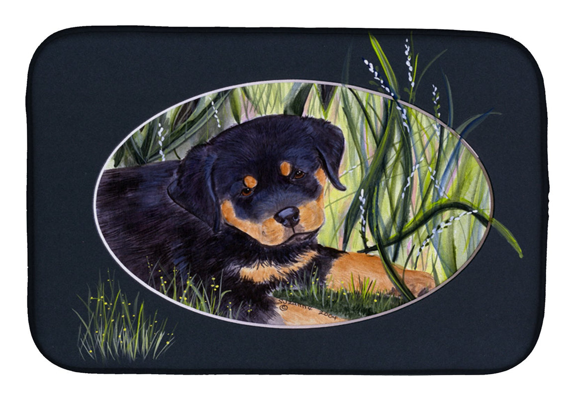 Buy this Rottweiler Dish Drying Mat SS8053DDM