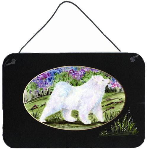 Buy this Samoyed Indoor Aluminium Metal Wall or Door Hanging Prints