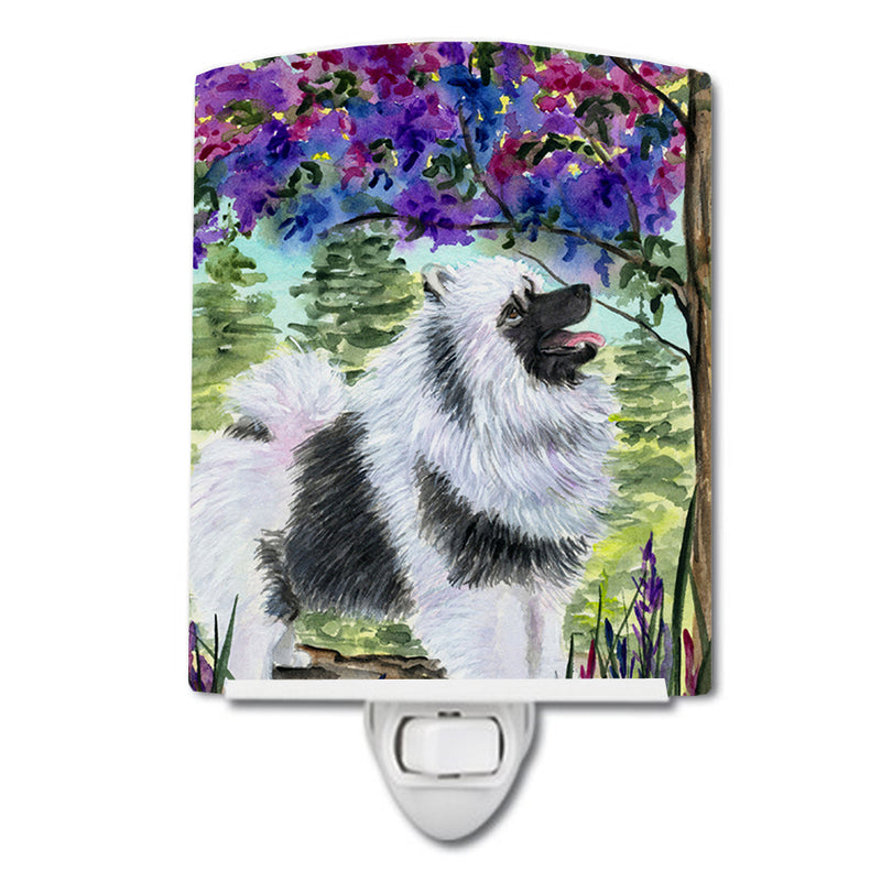 Buy this Keeshond Ceramic Night Light SS8063CNL