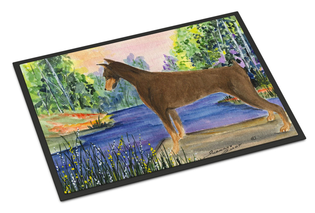 Buy this Doberman Indoor or Outdoor Mat 24x36 Doormat