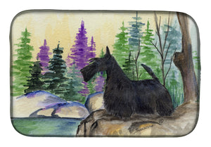 Buy this Scottish Terrier Dish Drying Mat SS8101DDM