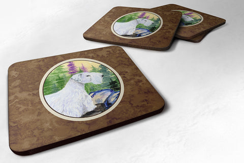 Buy this Set of 4 Sealyham Terrier Foam Coasters