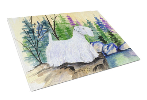 Buy this Sealyham Terrier Glass Cutting Board Large