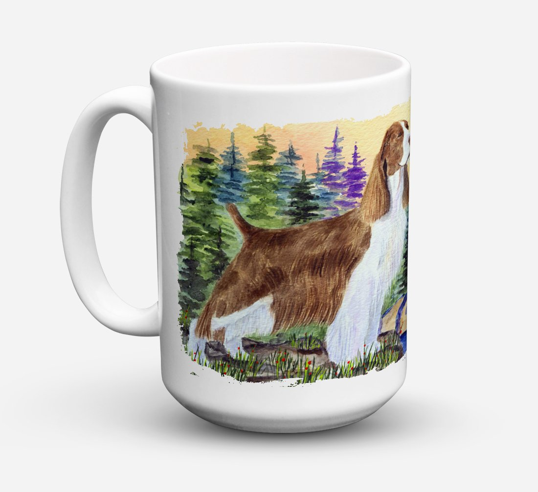 Buy this Springer Spaniel Dishwasher Safe Microwavable Ceramic Coffee Mug 15 ounce SS8105CM15