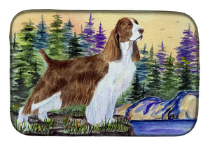 Buy this Springer Spaniel Dish Drying Mat SS8105DDM
