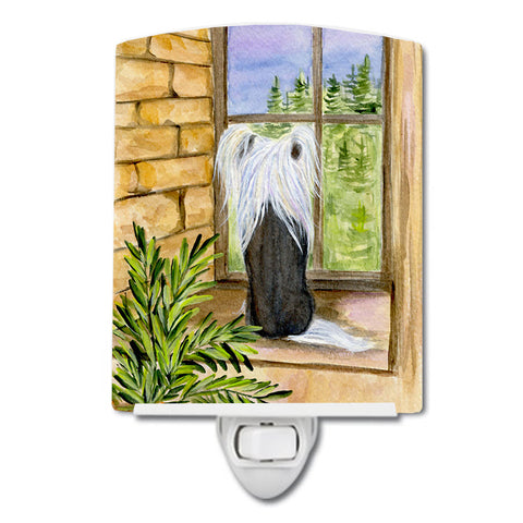 Buy this Chinese Crested Ceramic Night Light SS8121CNL
