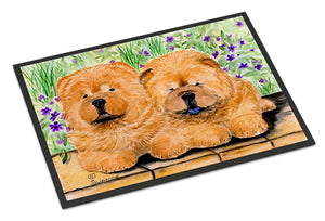 Buy this Chow Chow Indoor or Outdoor Mat 24x36 Doormat