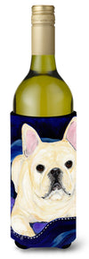 Buy this French Bulldog Wine Bottle Beverage Insulator Beverage Insulator Hugger SS8126LITERK