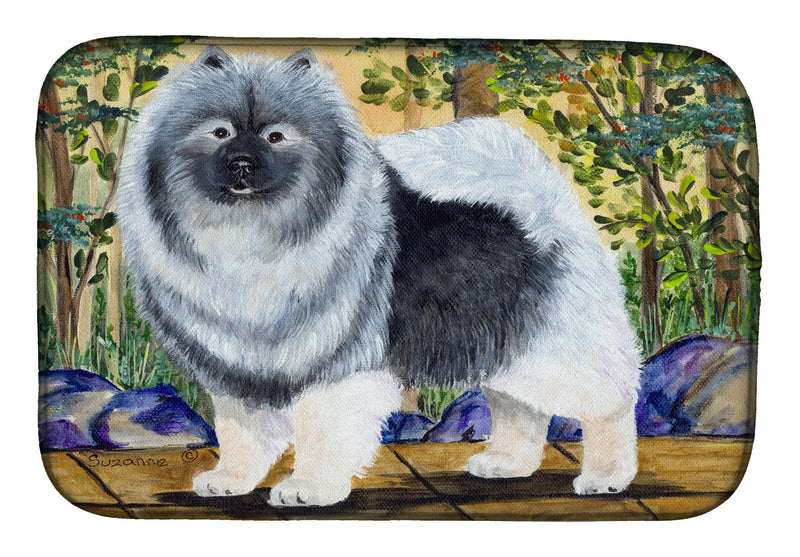 Buy this Keeshond Dish Drying Mat SS8127DDM