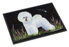 Bichon Frise Indoor or Outdoor Mat 24x36 Doormat by Caroline's Treasures