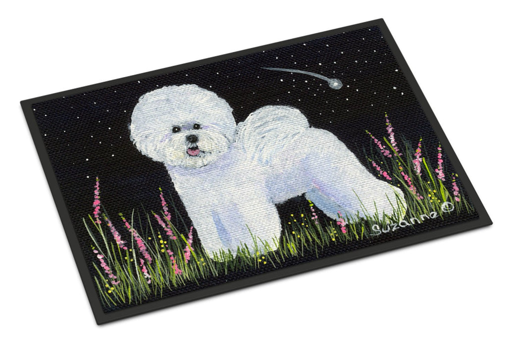Buy this Bichon Frise Indoor or Outdoor Mat 24x36 Doormat