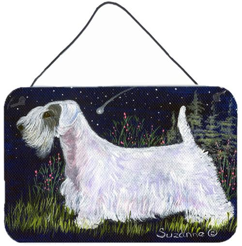 Buy this Sealyham Terrier Indoor Aluminium Metal Wall or Door Hanging Prints