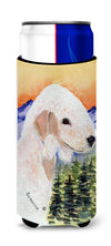 Bedlington Terrier Ultra Beverage Insulators for slim cans SS8158MUK by Caroline's Treasures