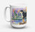 Greater Swiss Mountain Dog Dishwasher Safe Microwavable Ceramic Coffee Mug 15 ounce SS8160CM15 by Caroline's Treasures
