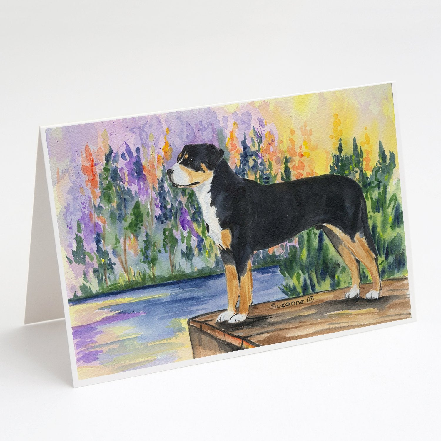 Buy this Greater Swiss Mountain Dog Greeting Cards and Envelopes Pack of 8