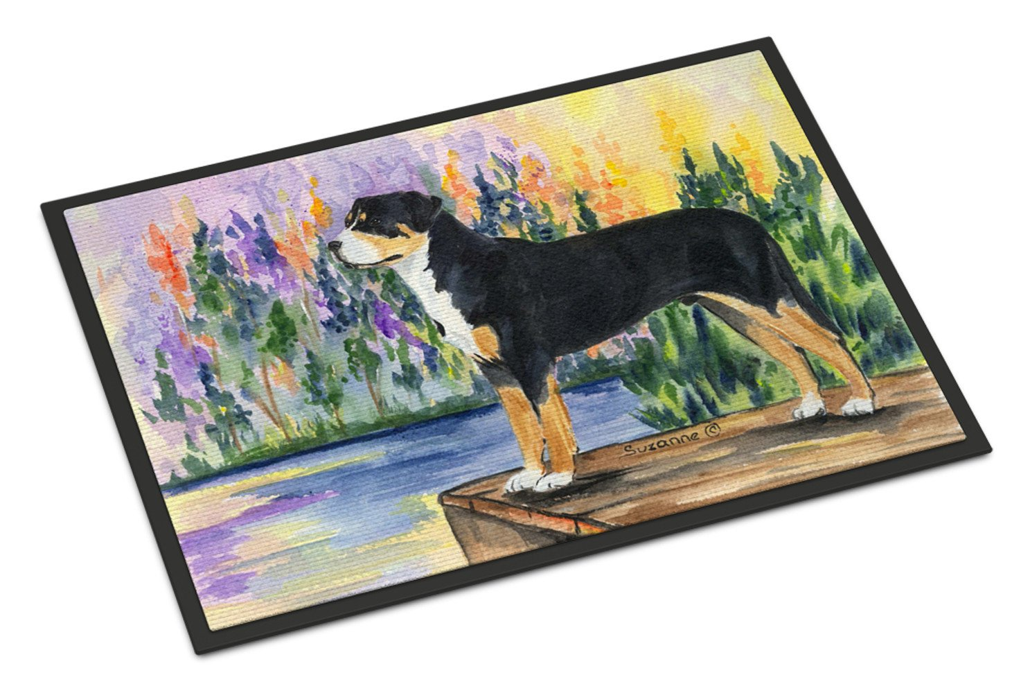 Greater Swiss Mountain Dog Indoor Outdoor Mat 18x27 Doormat - the-store.com