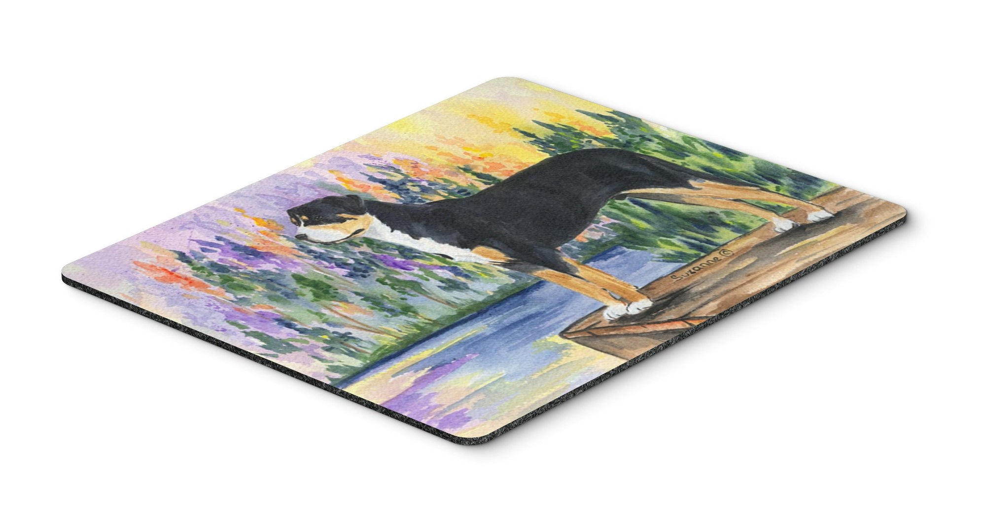 Greater Swiss Mountain Dog Mouse Pad / Hot Pad / Trivet by Caroline's Treasures