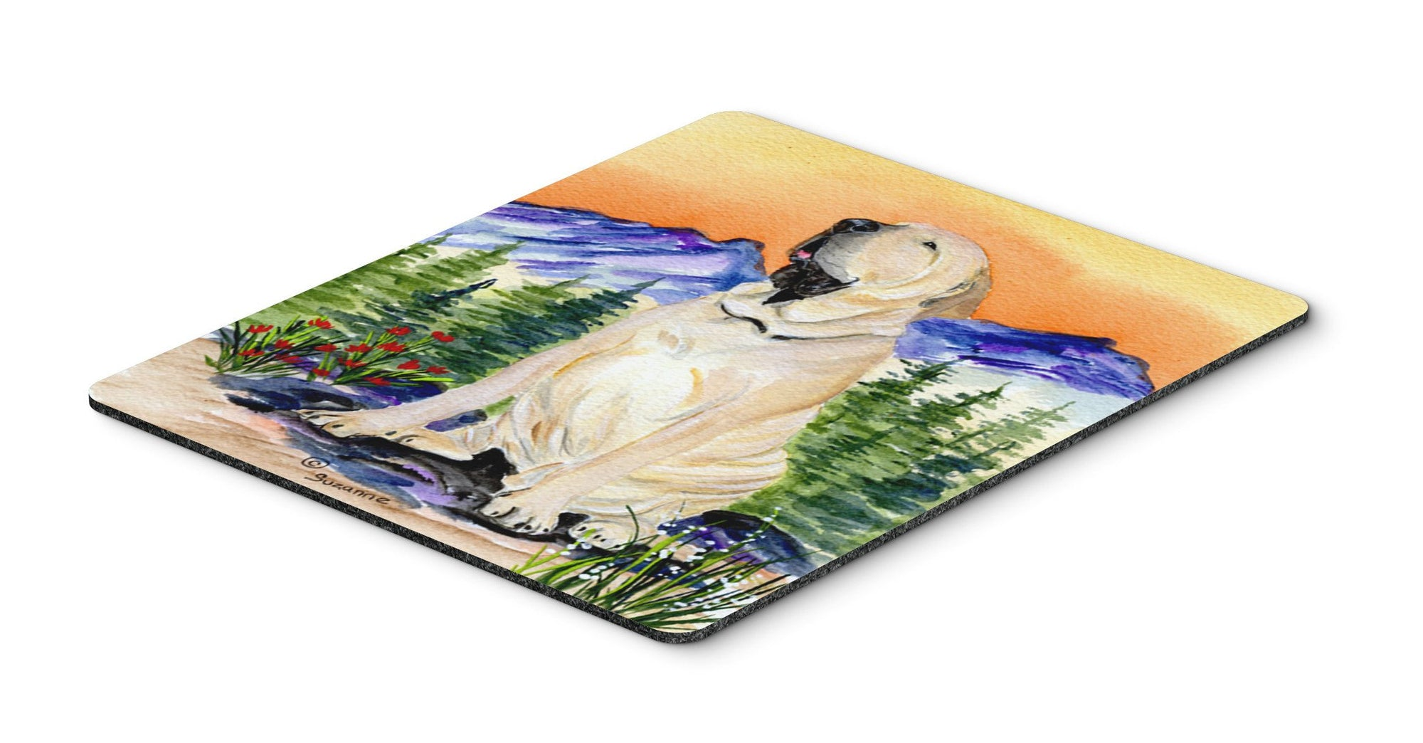 Brazilian Mastiff  / Fila Brasileiro  Mouse Pad / Hot Pad / Trivet by Caroline's Treasures