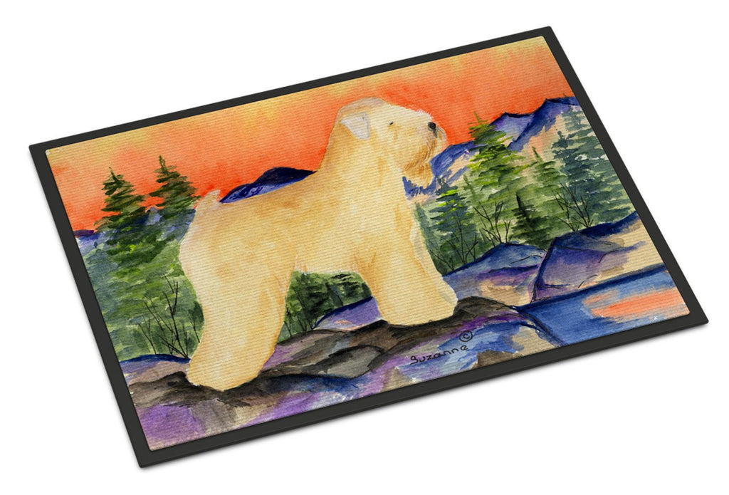 Buy this Wheaten Terrier Soft Coated Indoor or Outdoor Mat 24x36 Doormat