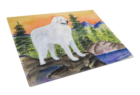 Buy this Kuvasz Glass Cutting Board Large