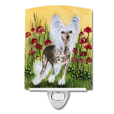 Buy this Chinese Crested Ceramic Night Light SS8185CNL