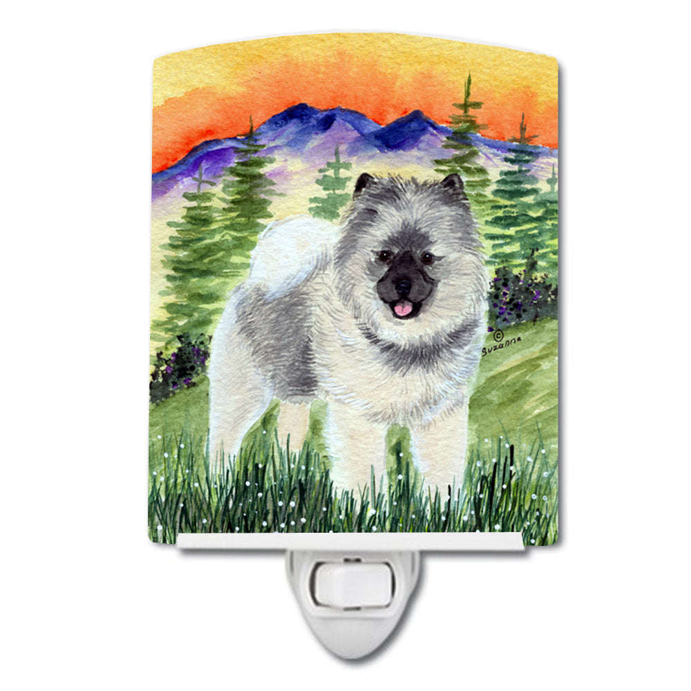 Buy this Keeshond Ceramic Night Light SS8192CNL
