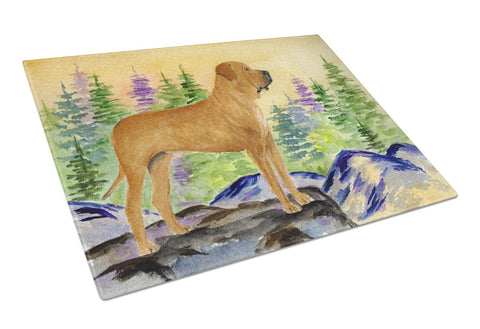 Buy this Tosa Inu Glass Cutting Board Large
