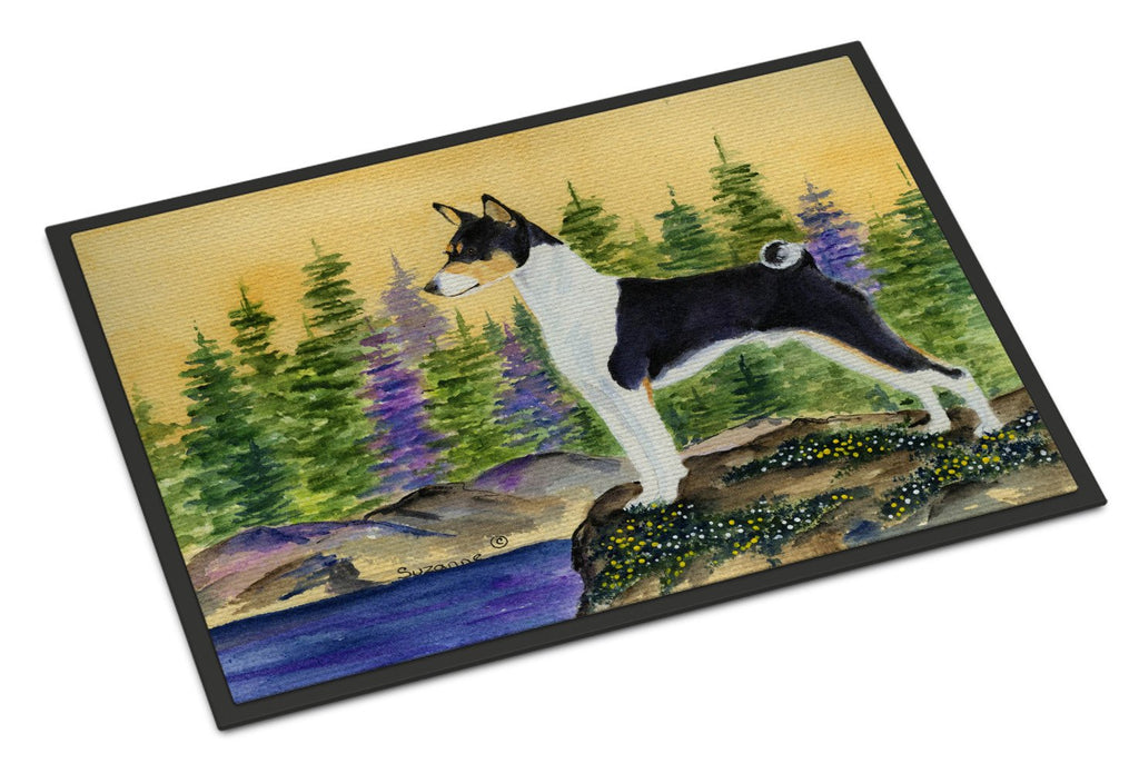 Buy this Basenji Indoor or Outdoor Mat 24x36 Doormat