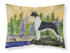 Basenji Moisture wicking Fabric standard pillowcase by Caroline's Treasures