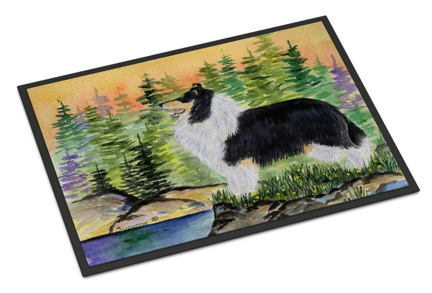 Collie Indoor or Outdoor Mat 18x27 Doormat - the-store.com