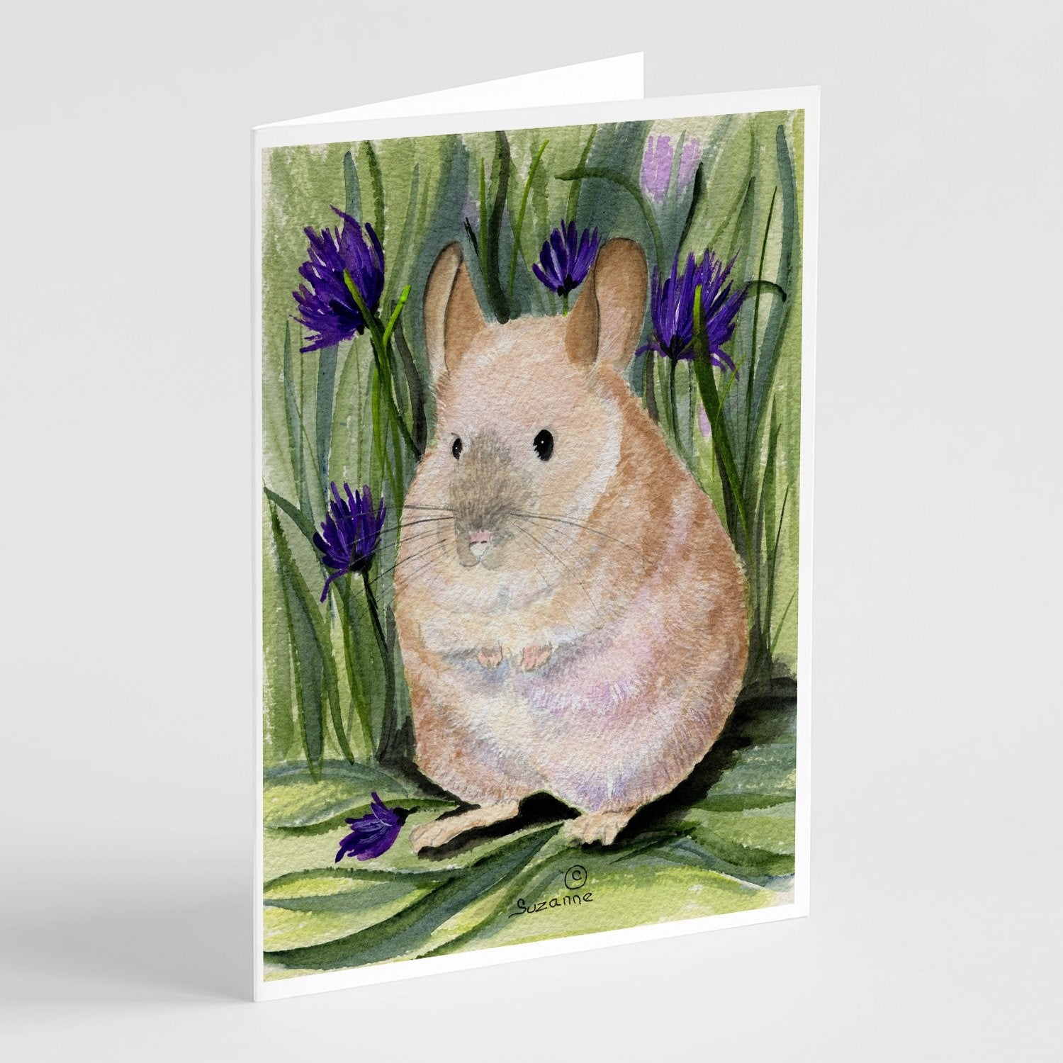 Buy this Chinchilla Greeting Cards and Envelopes Pack of 8