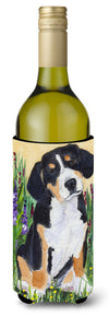 Buy this Entlebucher Mountain Dog Wine Bottle Beverage Insulator Beverage Insulator Hugger SS8216LITERK