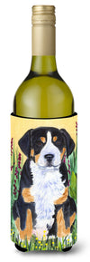 Greater Swiss Mountain Dog Wine Bottle Beverage Insulator Beverage Insulator Hugger by Caroline's Treasures