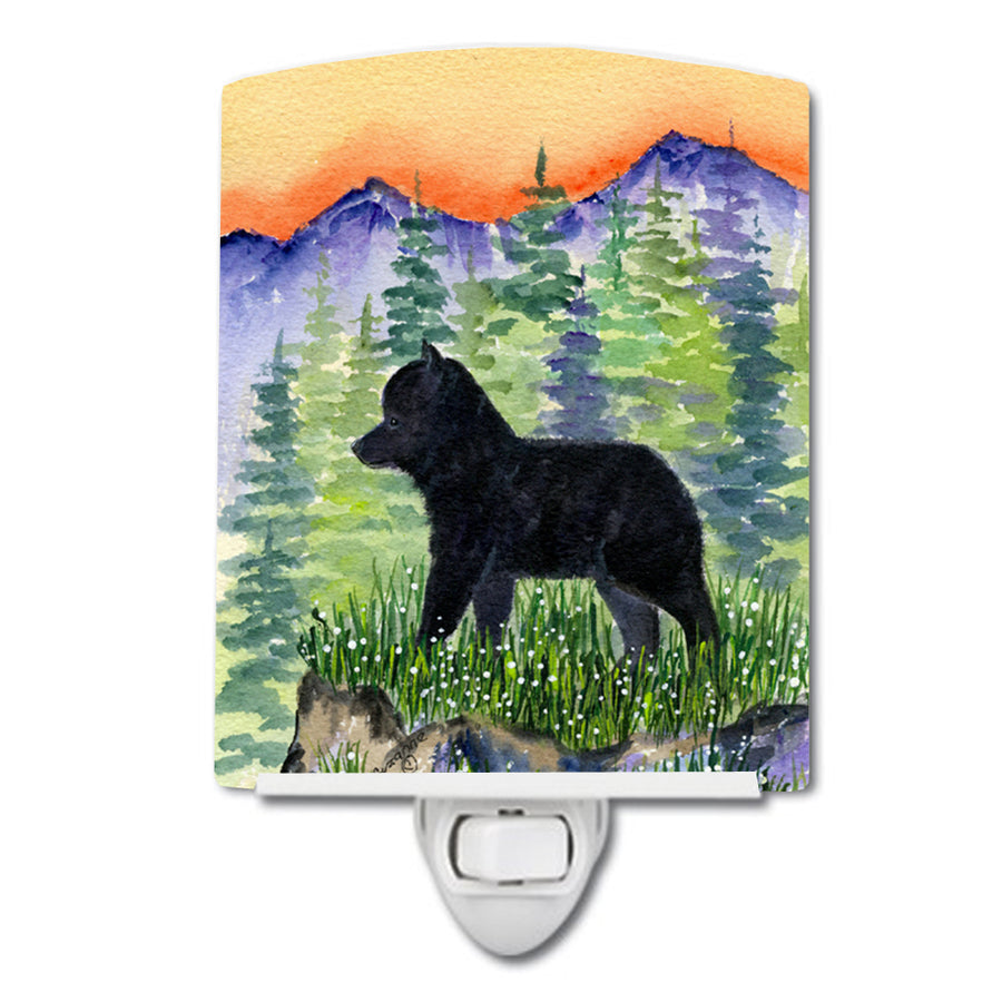 Buy this Schipperke Ceramic Night Light SS8231CNL